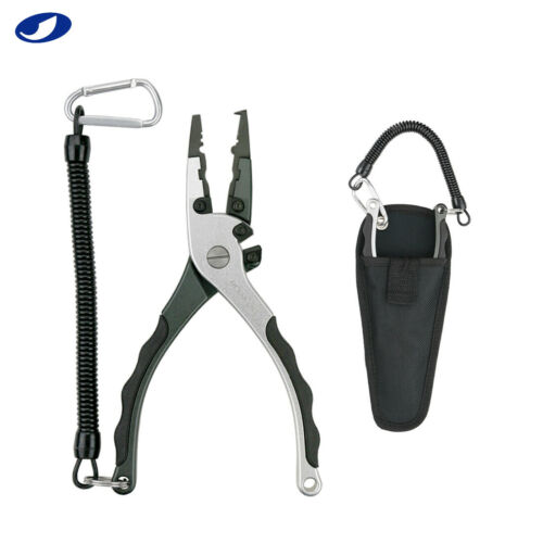 7.5 in Replaceable Tungsten Steel Cutter Fishing Pliers for Saltwater Freshwater
