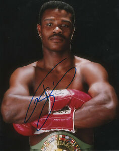 Terry Norris Boxing Middleweight Champion SIGNED 8x10 Photo COA!