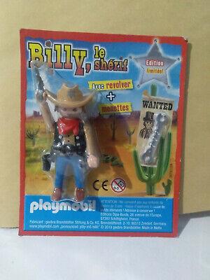 PLAYMOBIL PISTOLERO CON PISTOLA Y ESPOSAS EN BLISTER REVISTA PLAYMOBIL   eBay