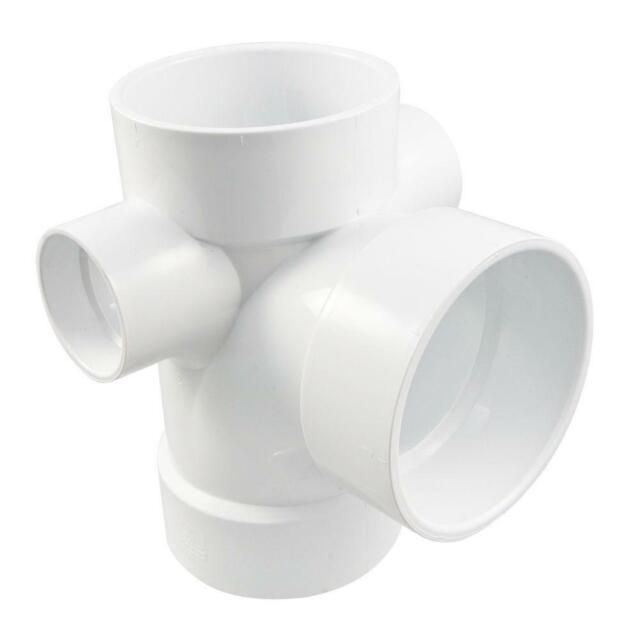 NIBCO 4801 Series PVC DWV Pipe Fitting Coupling 1-1//2 Hub 1-1//2 Hub