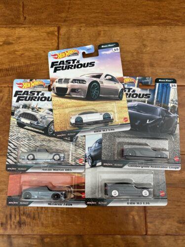2020 Hot Wheels Fast Furious Euro Fast Case K 5 CAR SET IN STOCK