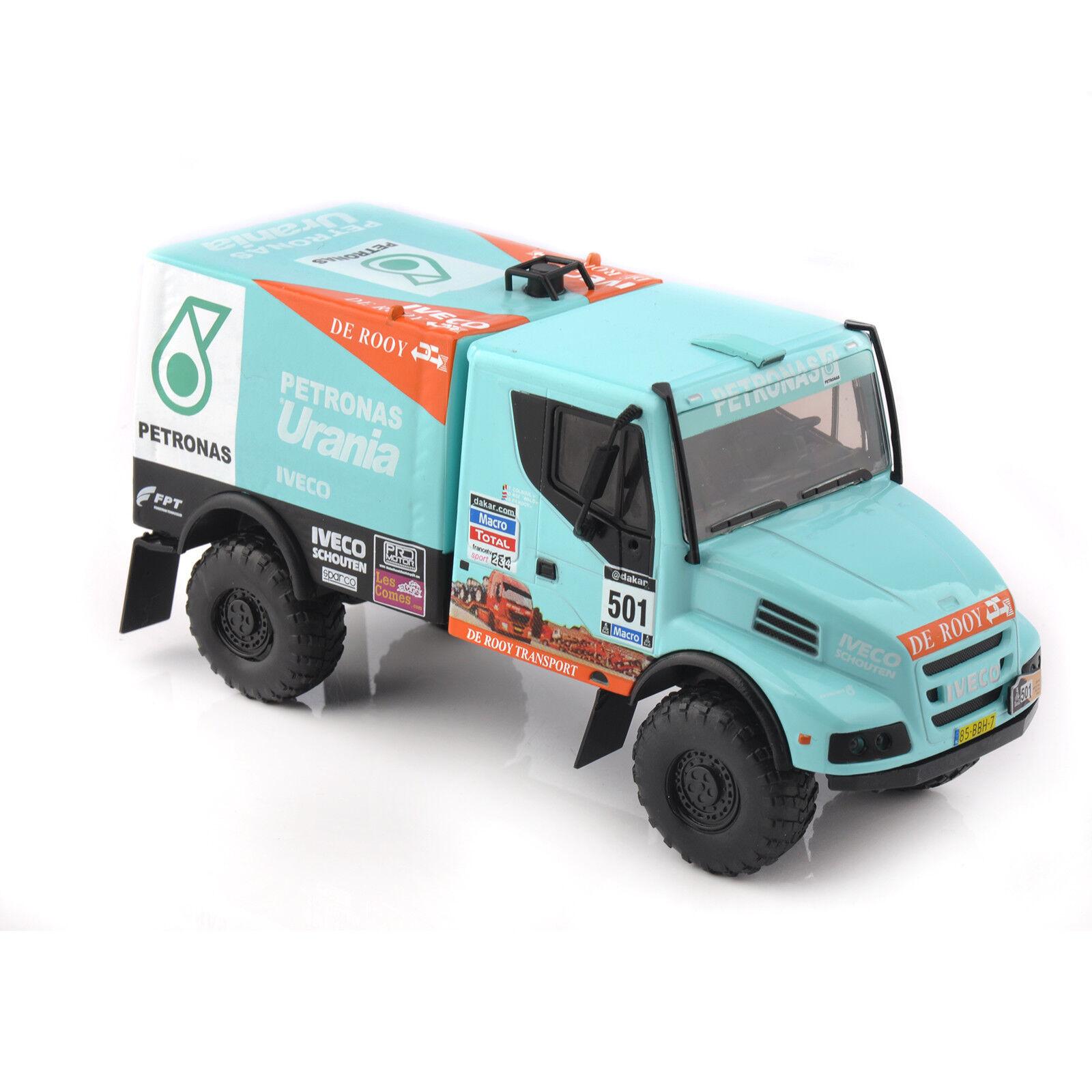 1 43 Dakar Diecast 2014 IVECO Powerstar Racing Rally Car Collection Toy