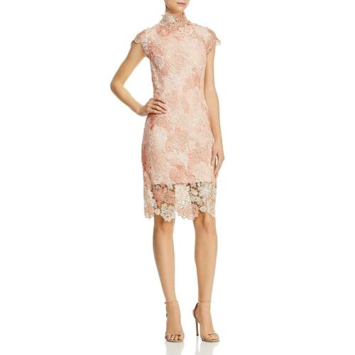 Laundry by Shelli Segal Womens Lace Floral Mock Neck Party Dress BHFO 6544