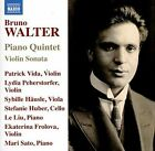 Bruno Walter: Piano Quintet; Violin Sonata (CD, Aug-2016, Naxos (Distributor))