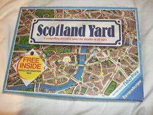 Scotland Yard Board Game 1983.