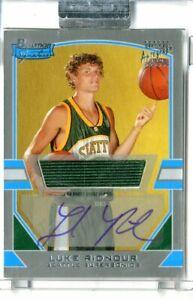 2003-04 Bowman Signature Edition Silver Basketball Card #85 Luke Ridnour