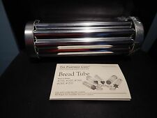 Pampered Chef Bread Tube Scalloped Shape Cookie Cutter with Recipe Card
