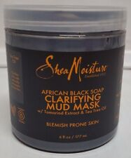 SheaMoisture African Black Soap Clarifying Mud Mask - 6 oz