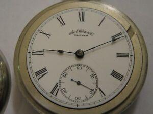 Waltham-18s-7j-pocket-watch-Grade-Sterling-Model-1883-WORKING