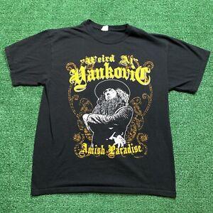 Weird Al Yankovic Amish Paradise Shirt Music Band Parody Comedy Song Size Large Ebay