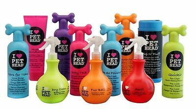 PET HEAD DOG PUPPY SHAMPOO CONDITIONER SPRAYS GROOMING HUGE SELECTION