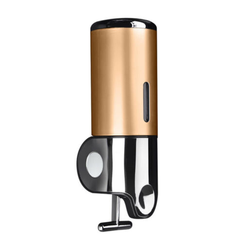 500ml Bathroom Kitchen Shower Wall Mount Soap Dispenser Shampoo Gel Container