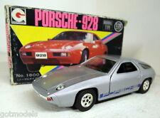 Eidai Grip 1/28 escala 1800 Porsche 928 coche de carretera en Plata Vintage de automóvil de fundición