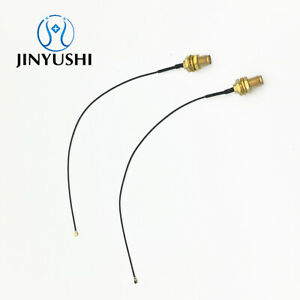 2x-ipex4-M-H4-to-SMA-female-Pigtail-Antenna-WiFi-Cable-for-IPEX4-NGFF-M-2-15cm