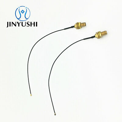 15cm UFL to SMA M.2 NGFF U.FL to RP-SMA Female MHF4 Ipex Connector Pigtail WiFi Antenna Extension Cable 2 Pcs