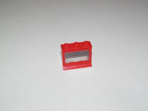 Lego ® Ville City Fenêtre Vintage Rouge 3x2 Red Classic Windows ref 31