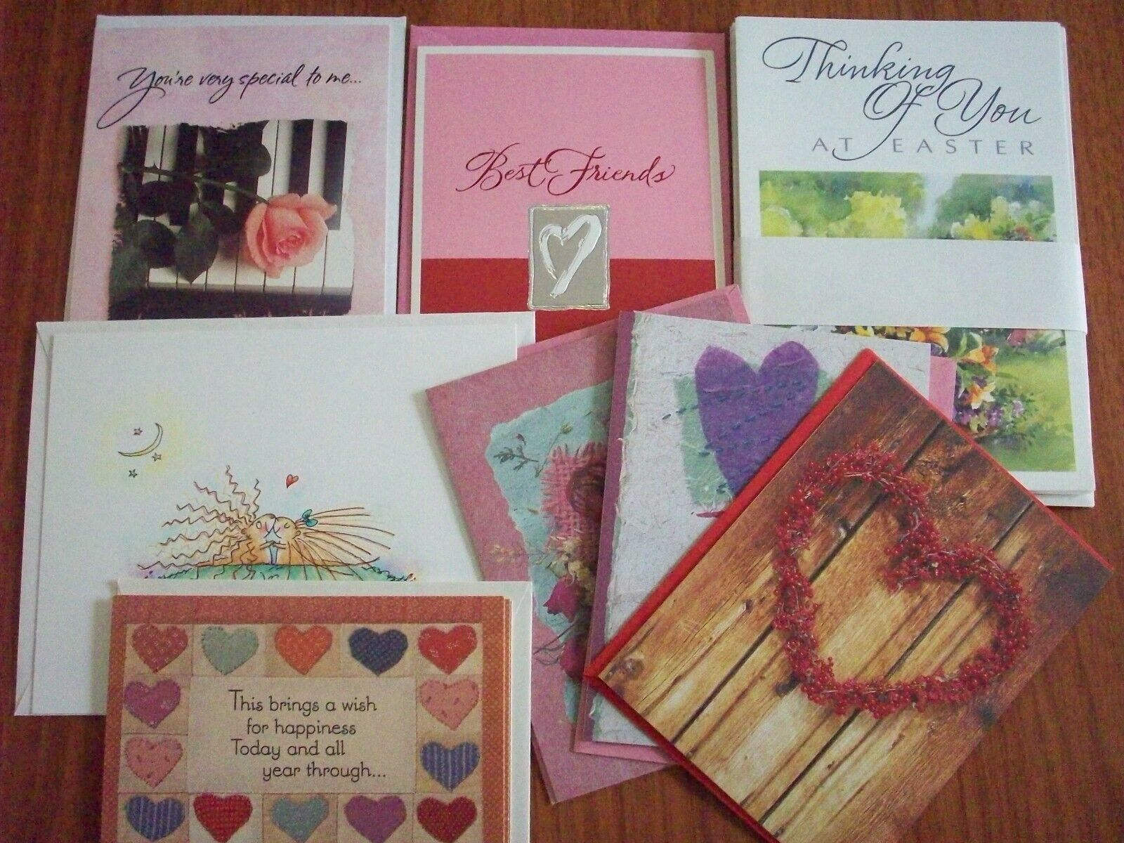 Large Assorted Assorted Assorted Lot of Greeting Cards Postcards Over 150 152905