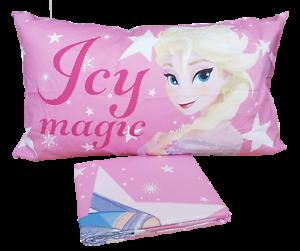 Parure Copripiumino Frozen.Duvet Cover Parure 2 Pieces Cover Pillowcase Single Disney 100