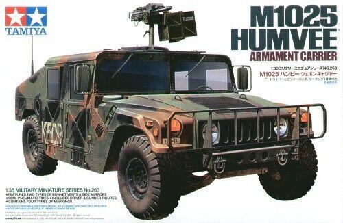 1:3 5 Tamiya 35263 M1025 Humvee Armament Carrier