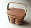 Boyds-Bear-Paw-mark-Mini-Picnic-Basket thumbnail 1