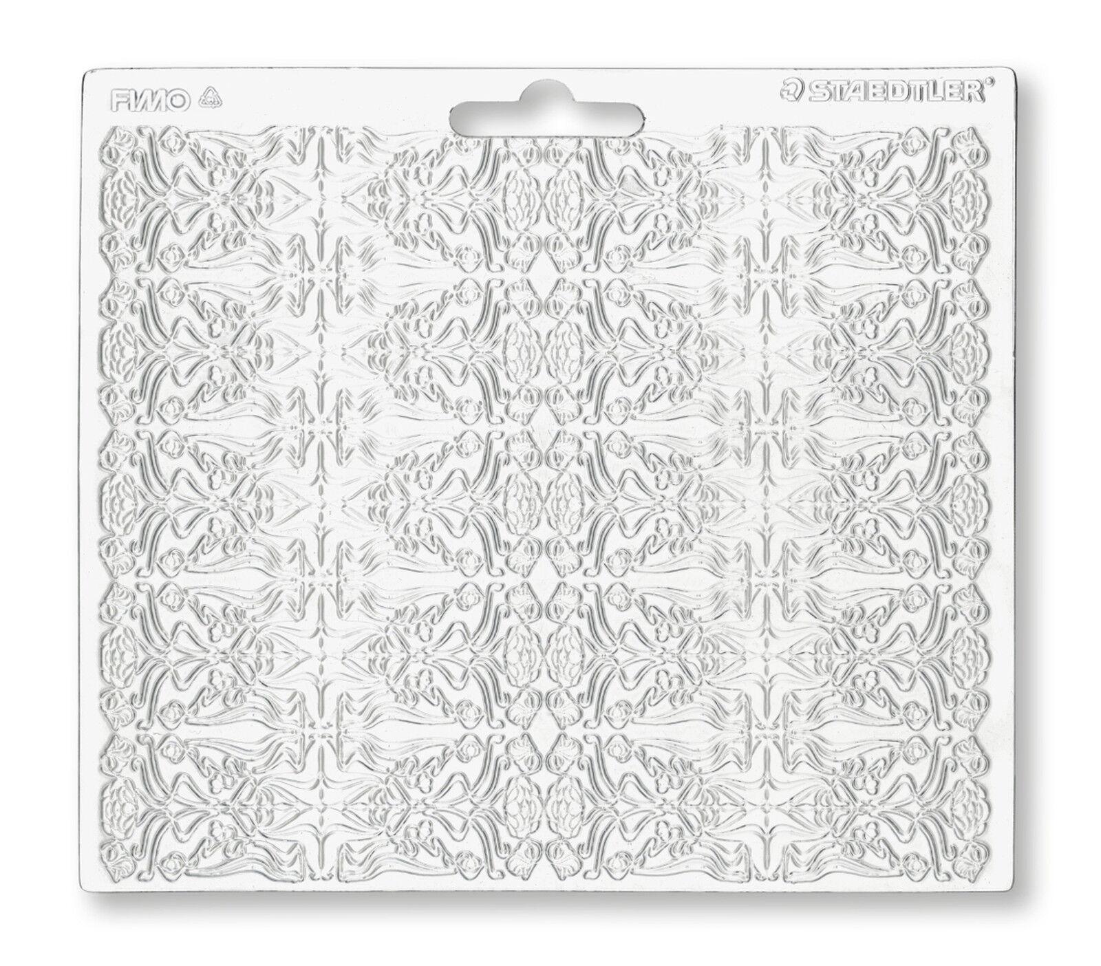 Staedtler Fimo Unique Baroque Texture Feuille tumdee Craft Art Fun 16.7 cm x 14 cm