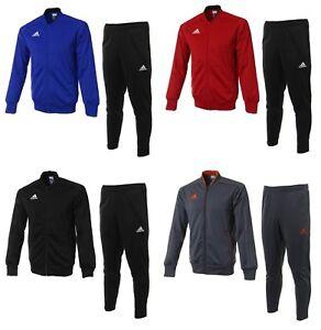 Details about Adidas Men Condivo 18 PES Training Suit Set Blue Black Red Soccer Jacket Pant