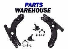 4 Pc KIt Front Lower Control Arm w/Bushing Both Lower Ball Joint VW Jetta/Golf