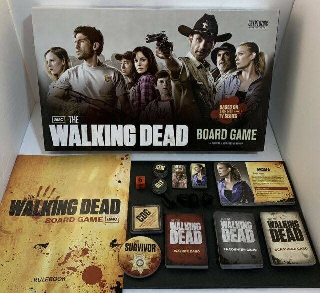 The Walking Dead Board Game 2011 Complete Pre-owned Good Condition
