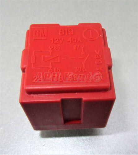 68-gestión del motor Opel Opel Multi-uso 4-Pin Rojo Relé GM 24438887 6238626