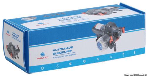 AUTOCLAVE EUROPUMP 3 VALVOLE 8 LT\MIN AUTOMATICA AUTOASPIRANTE