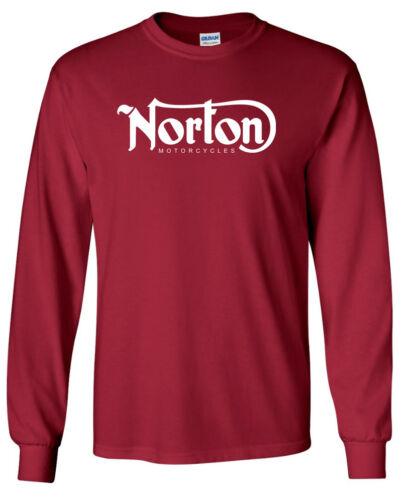 Classic Logo Racing NORTON Long Sleeve T-SHIRT