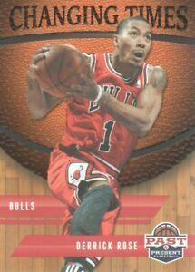 2011-12 Panini Past & Present Basketball Changing Times #27 Derrick Rose