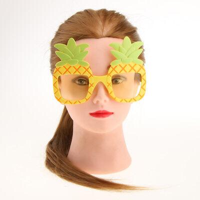 Novelty Pineapple Sunglasses Hawaiian Fancy Dress Tropical Beach Hens Party