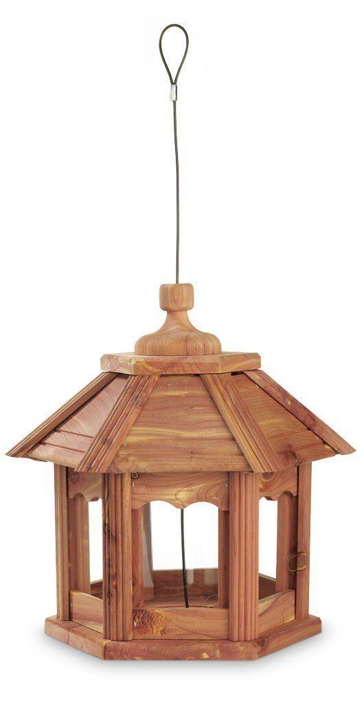 Kaytee Cedar Gazebo Wild Bird Feeder