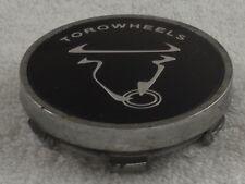 Details about  /RARE TOROWHEELS CUSTOM WHEEL BLACK CHROME CENTER CAP C84105-CAP C84105
