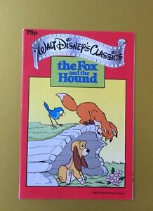 WALT-DISNEY-CLASSICS-THE-FOX-AND-THE-HOUND-1988-COMIC-MAGAZINE