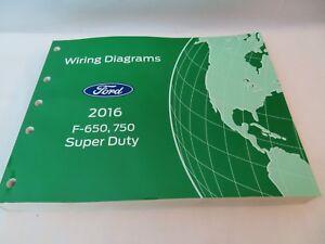 2016 Ford F650 F750 Super Duty Truck Electrical Wiring ...