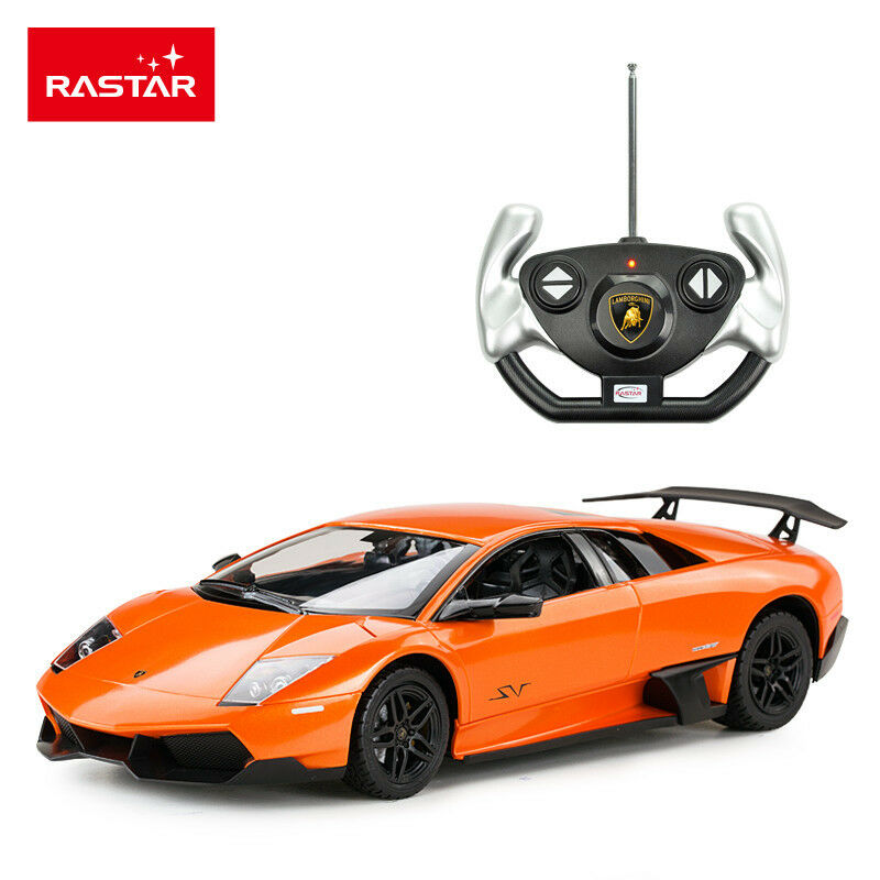 1 - 14 - skala - rastar lamborghini lp670-4 sv vollfunktions - funk - auto (Orange).