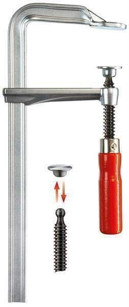 BESSEY Ganzstahl-Schraubzwinge GZ 400 120 | Hervorragende Eigenschaften  | Neues Produkt  | Meistverkaufte weltweit  | Der Schatz des Kindes, unser Glück