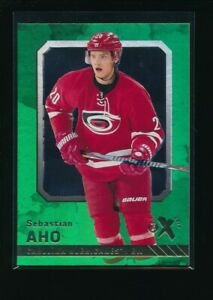 2016-17-Fleer-Showcase-E-X2017-23-Sebastian-Aho