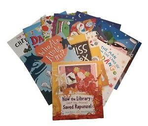 Super-Fun-Story-Time-Picture-10-Book-Set-Children-Nursery-Toddler-Girl-Boy-New