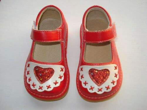 Valentine's Day squeaky shoes size 4,5,7,8