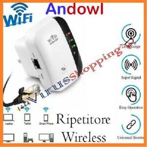 Ripetitore wi-fi wireless access point potenziatore di segnale