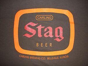 634c0f0b STAG BEER T-SHIRT High Quality Screen Print S M L XL 2XL CARLING ...
