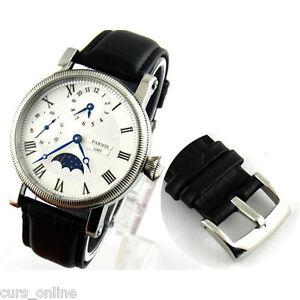 Orologio-Parnis-Movimento-Meccanico-Seagull-6497-Funzione-GMT-Fasi-Lunari-PN829
