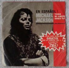 MICHAEL JACKSON En Español¡ EP. Todo mi amor eres tu. Press in colombia promocio