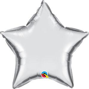 SILVER-STAR-BALLOON-20-034-STAR-SHAPED-METALLIC-SILVER-QUALATEX-FOIL-BALLOON