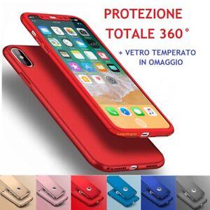 Dettagli su Cover Custodia Bumber in silicone Protezione Totale per Iphone X XS Max 6 7 8 5