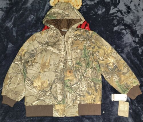 Details about  /CARHARTT REAL TREE XTRA CAMO BOYS CP8468 BOYS SIZE MED-LARGE