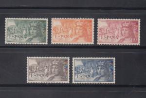 ESPANA-1952-MNH-NUEVO-SIN-FIJASELLOS-EDIFIL-1111-15-SERIE-COMPLETA
